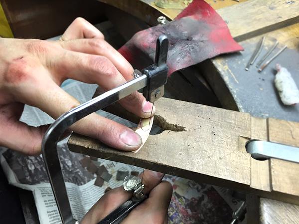 手彫りパーツ葉2